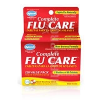 Hylands Complete Flu Care - 60+60 Tabs