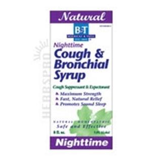 Boericke & Tafel Nighttime Cough & Bronchial Syrup - 8 Oz