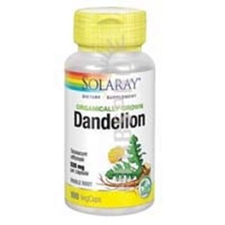 Solaray Dandelion - 100 Caps